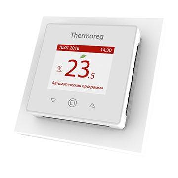 Prix d'un thermostat pour sol chaud Thermoreg TI 970 blanc