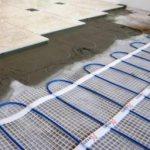 Chauffage au sol électrique sous carrelage