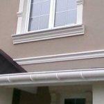 Décor de façade en polystyrène
