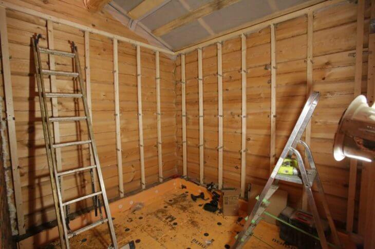 comment recouvrir une maison à l'intérieur avec des cloisons sèches