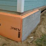 Comment isoler la fondation avec une maison pour l'hiver?