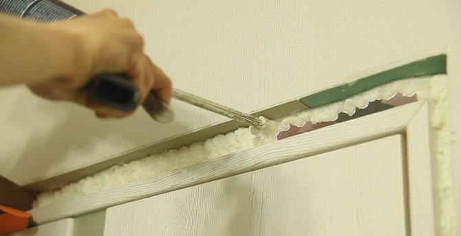 mousse de polyuréthane pour l'isolation des fenêtres
