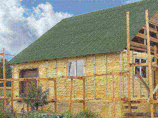 s'il est nécessaire d'isoler la maison d'une barre d'une barre profilée