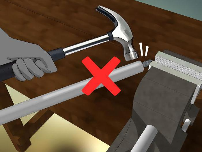 plier le tuyau profilé sans cintreuse de tuyau