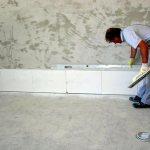Isolation des murs avec de la perlite
