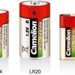 Types de batteries